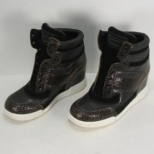MARC BY MARC JACOBS LEATHER WEDGES SNEAKERS 40